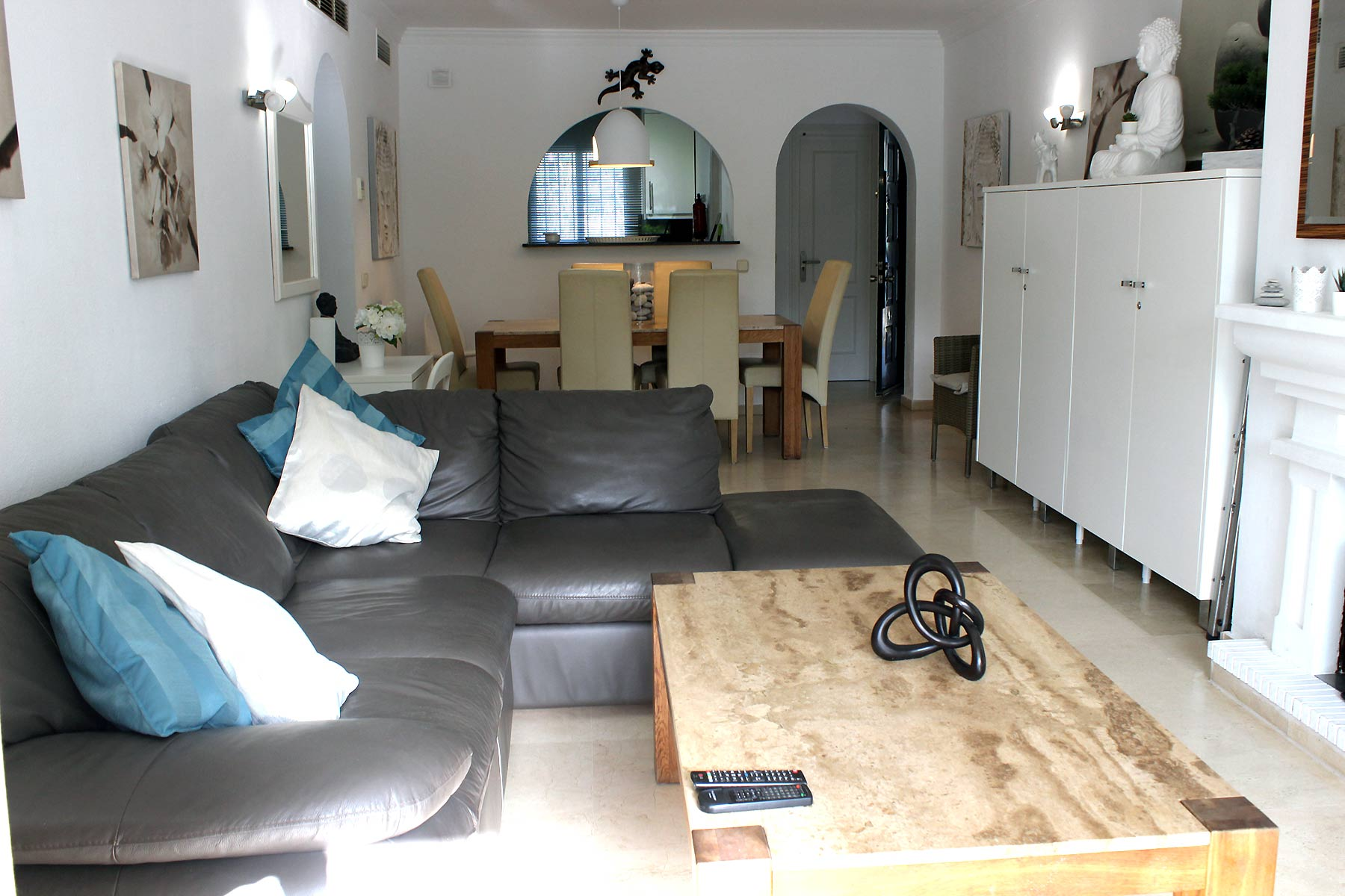 Holiday apartments Estepona Lounge