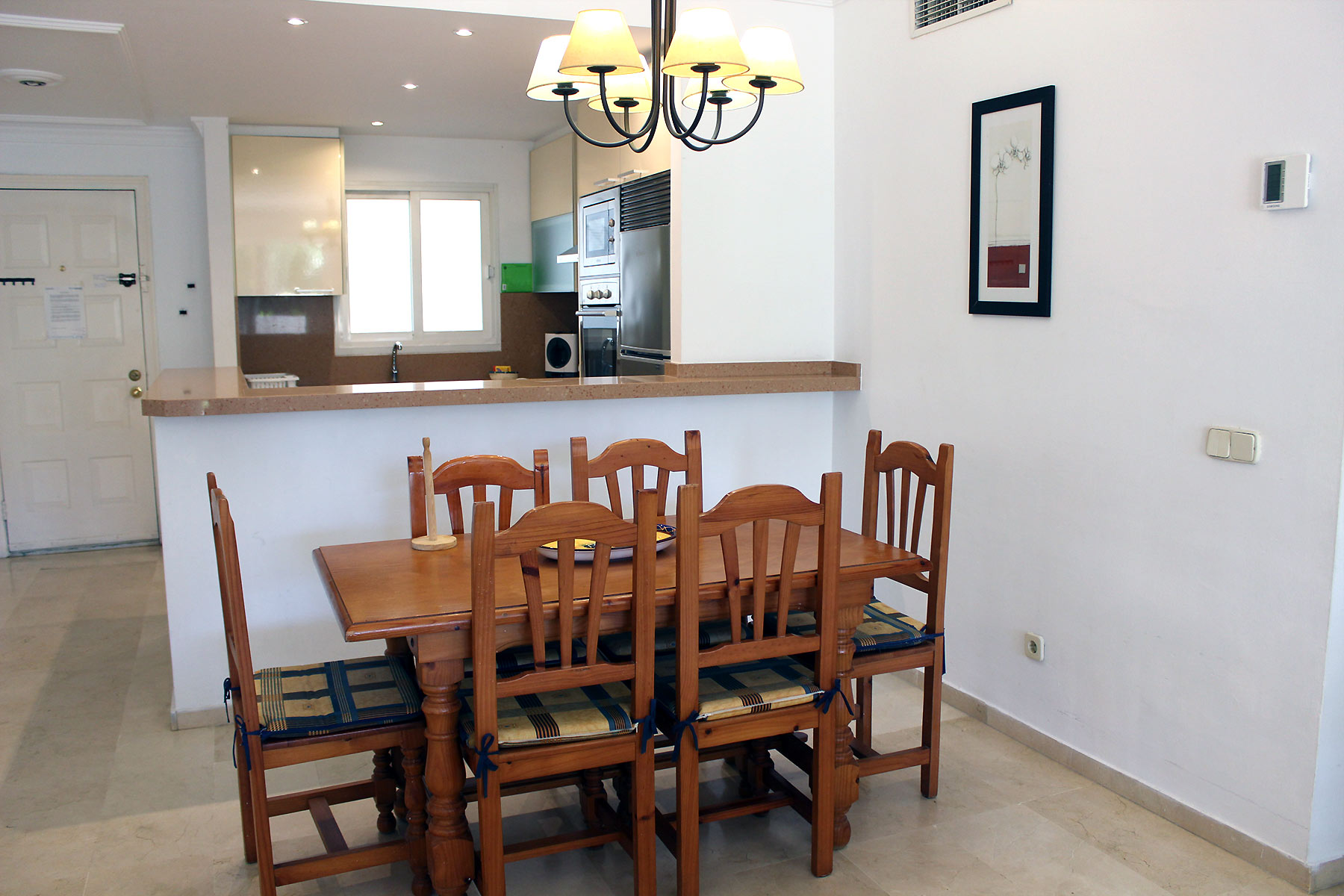 Locations appartements Estepona Coin repas