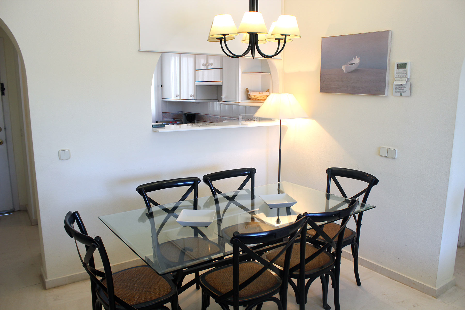 Holiday apartments Estepona Dining area