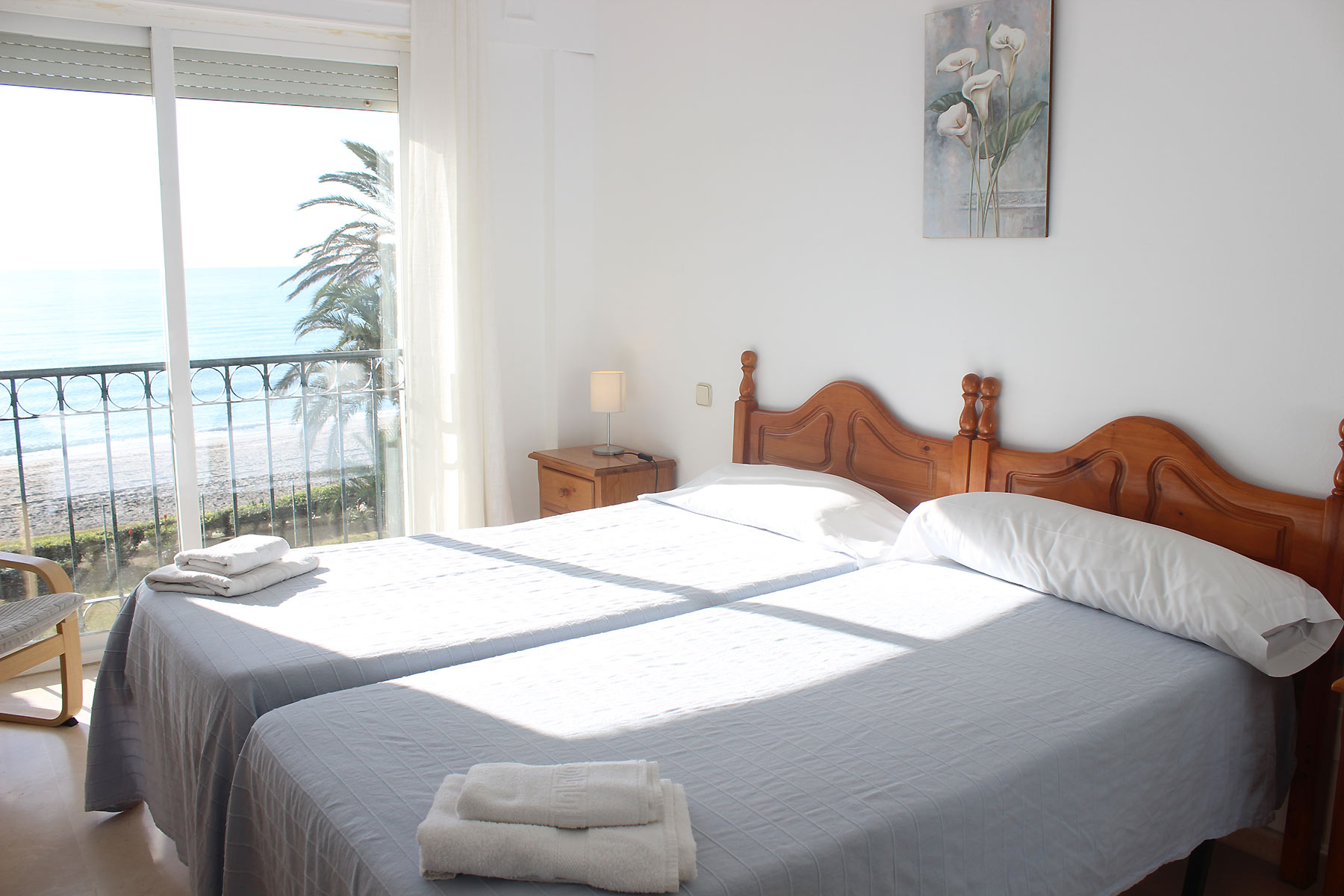 Holiday apartments Estepona Master bedroom